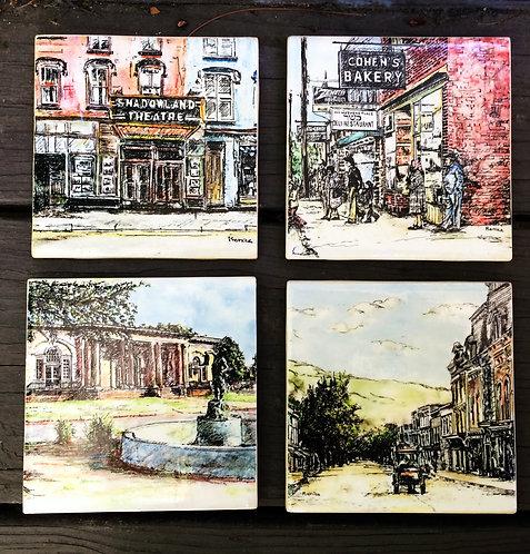 Best of Ellenville Coasters (Set of 4)