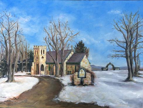 """Stone Church, Winter"""