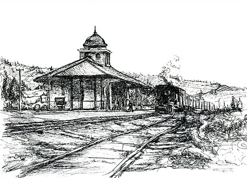 Napanoch Train Station