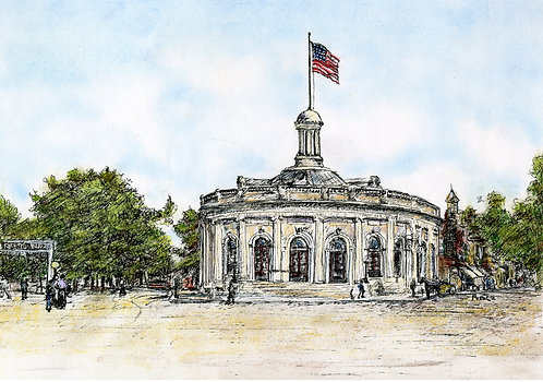 Kingston Post Office (Color)