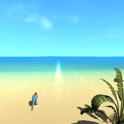 癒しのプライベートビーチ