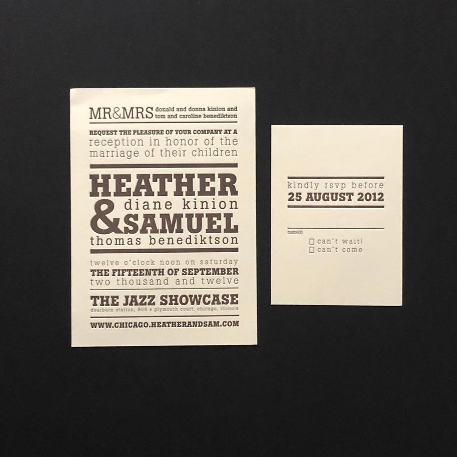 Heather & Sam Wedding