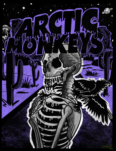 The Arctic Monkeys Poster