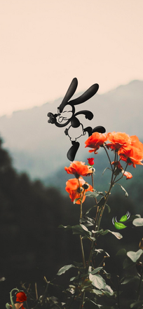 Oswald the lucky rabbit background photo
