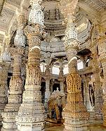 Inside Ranakpur Temple