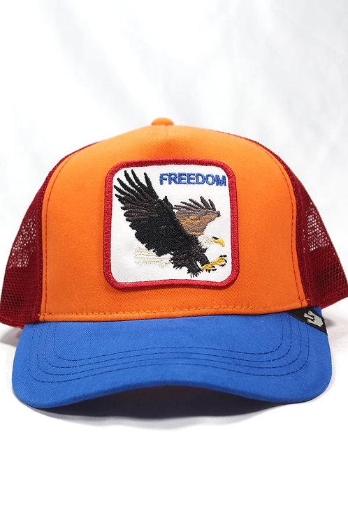 Unisex Goorin Bros | Freedom | One Size Kartal Figürlü Şapka