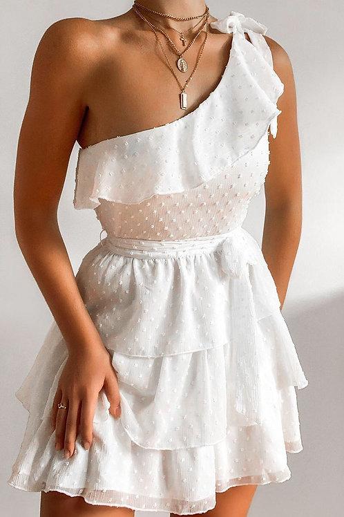 Omuz Detay Elbise