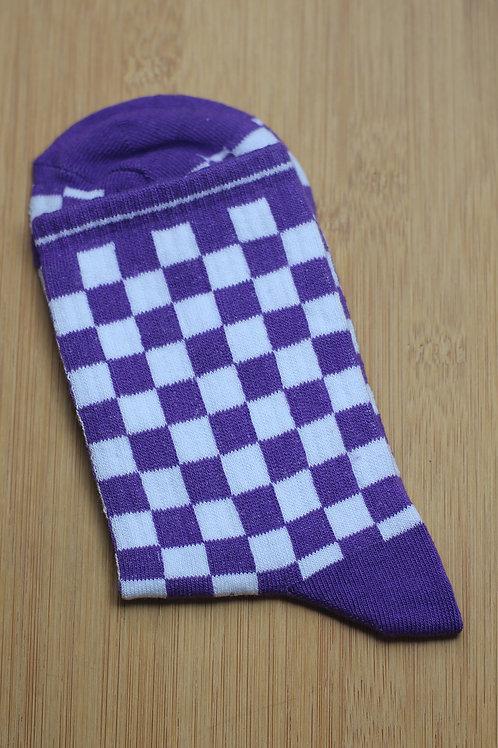 Unisex  Damalı Spor Çorap C117