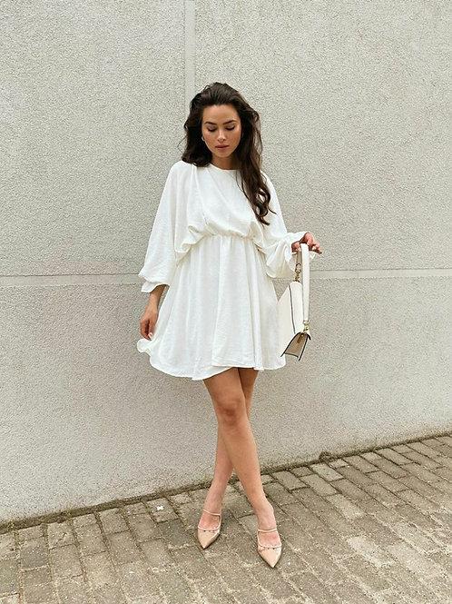 Zara Model Balon Kol Elbise