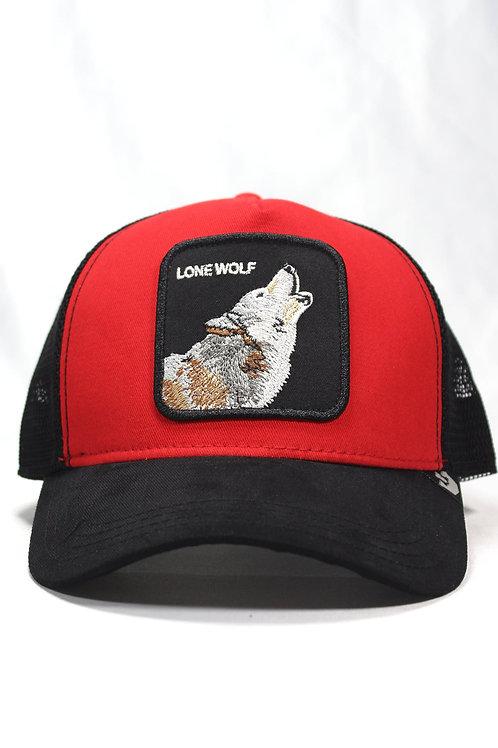Unisex Goorin Bros | Lone Wolf | One Size Kurt Figürlü Şapka