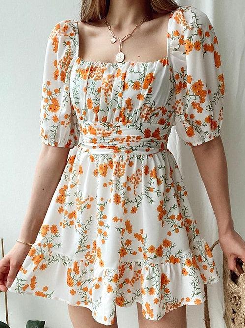 Sırt Bağlamalı  Elbise