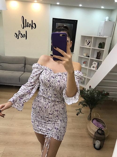 Gipe Detay Elbise - 0117