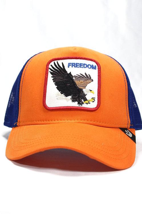 Unisex Goorin Bros | Turuncu | One Size Kartal Figürlü Şapka