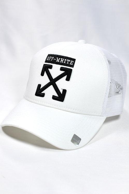 Unisex Off White One Size Şapka