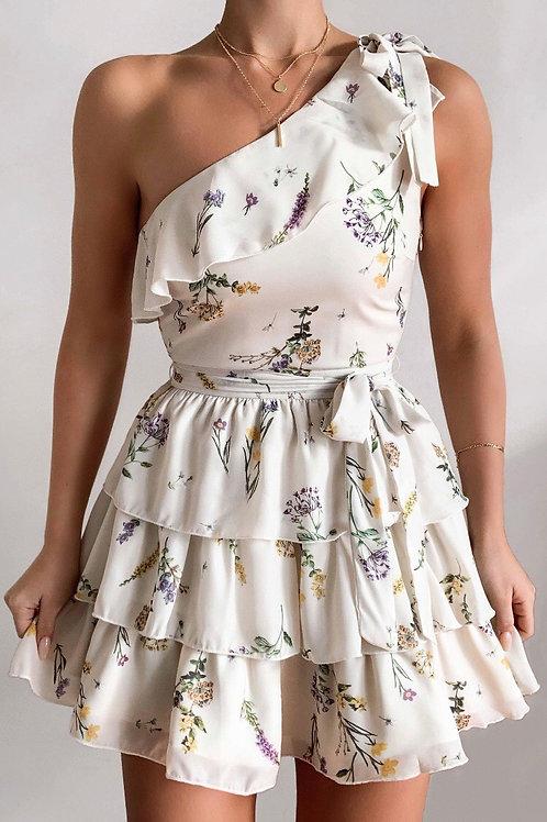 Çiçek Desen Elbise