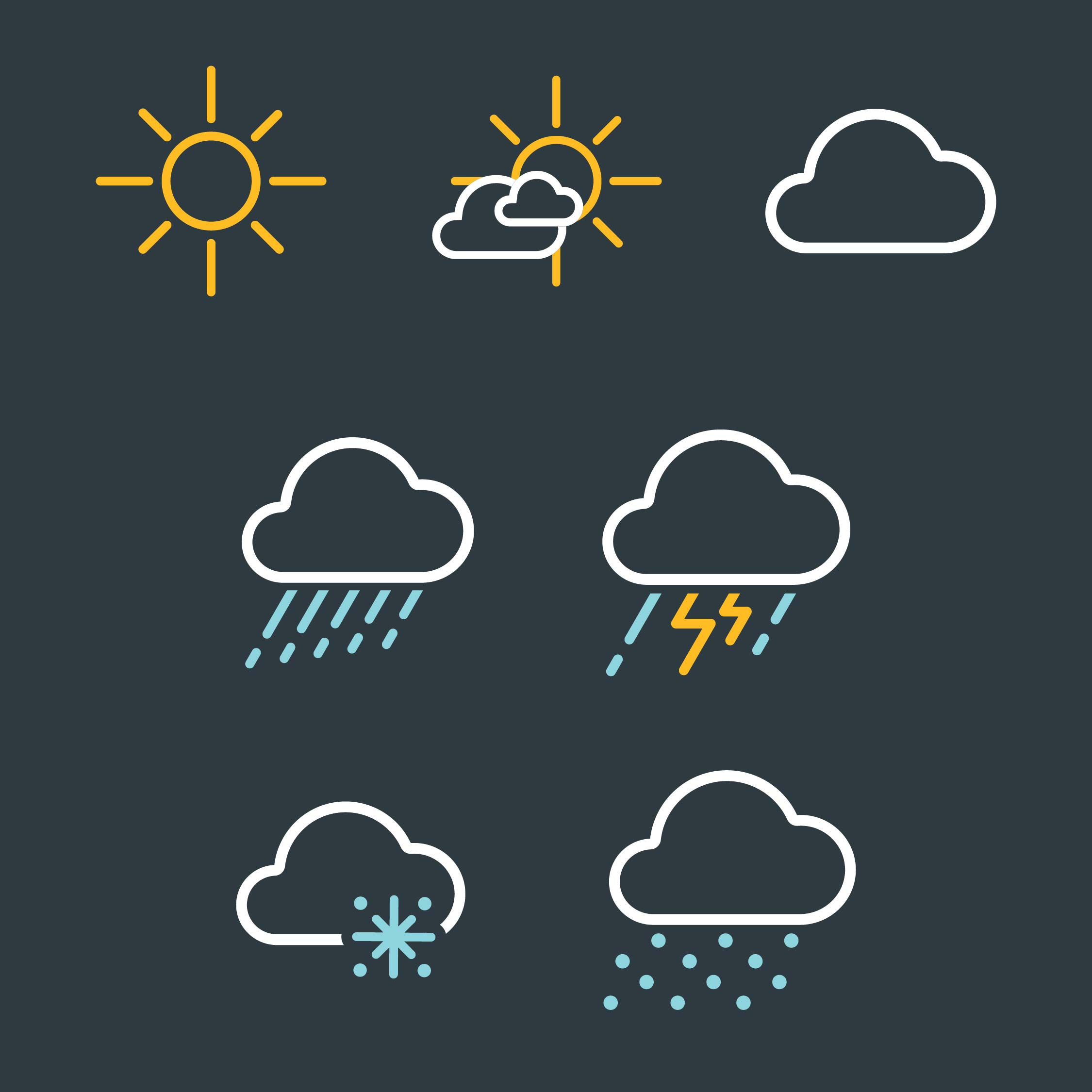 Weather-AE_All Icons