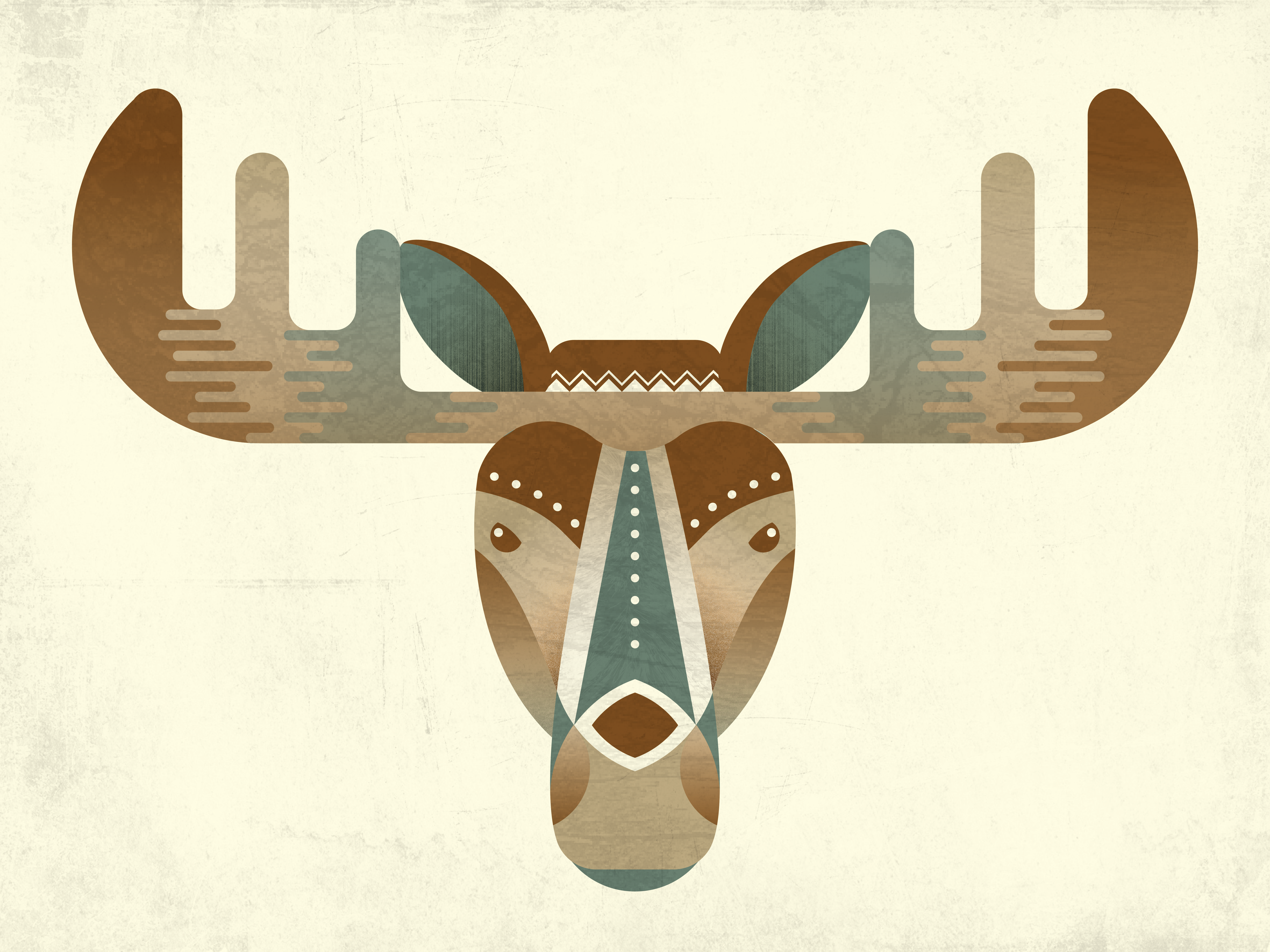 Illustrated Moose