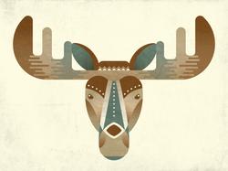 Illustrated Moose