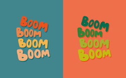 BoomBoom-Lettering