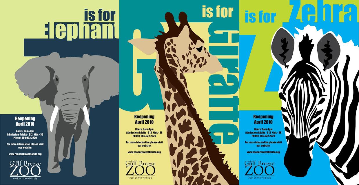 Zoo Poster Design