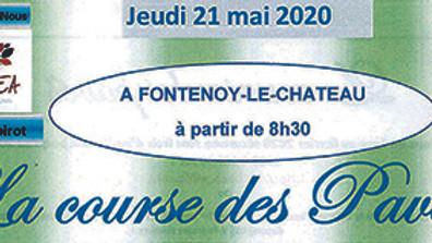 5km Marche Populaire  La Course des Pavés   FONTENOY LE CHÂTEAU
