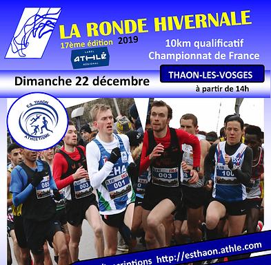 3km 14H45 La Ronde Hivernale