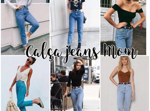 ALERTA DE TENDÊNCIA: Calças jeans Mom's
