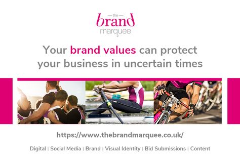 In uncertain times or unprecedented times, we need to remain focussed and remember our brand values
