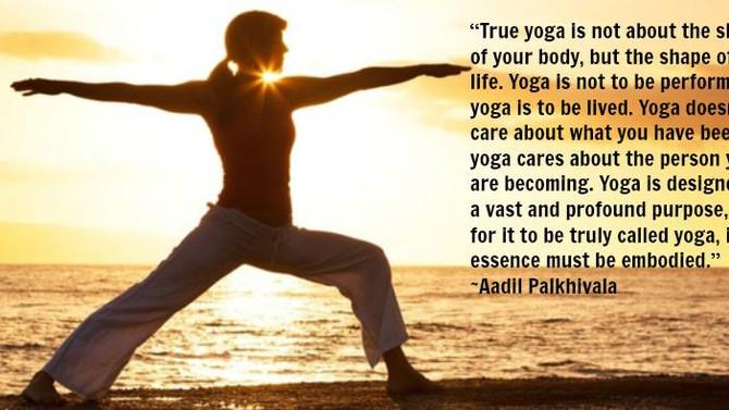 Gotta love Yoga!
