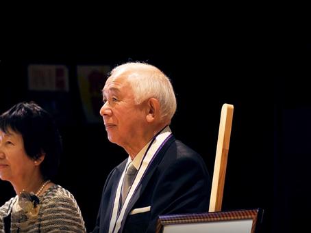 菊川健一氏の輝かしい功績を顕彰 ~当麻町名誉町民称号授与式