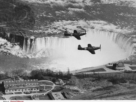 Waterfalls and Warplanes