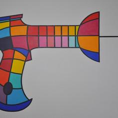 Original Tazer Artwork - Rhys Morris