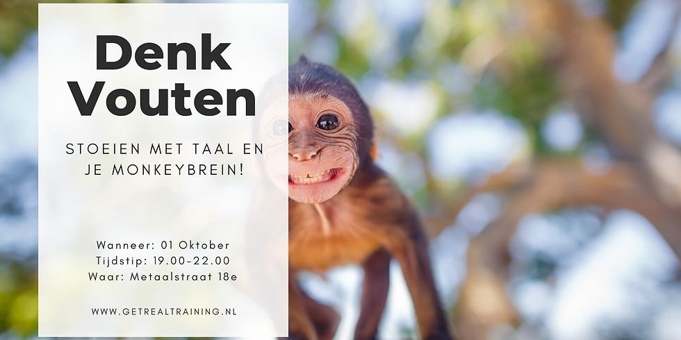 DenkVouten | Stoeien met taal en je monkeybrein.