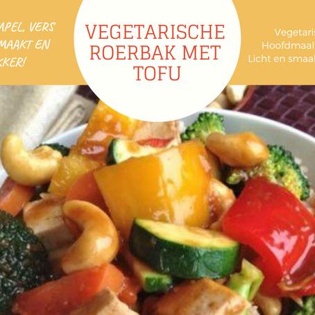 Vegetarische Roerbak met Tofu