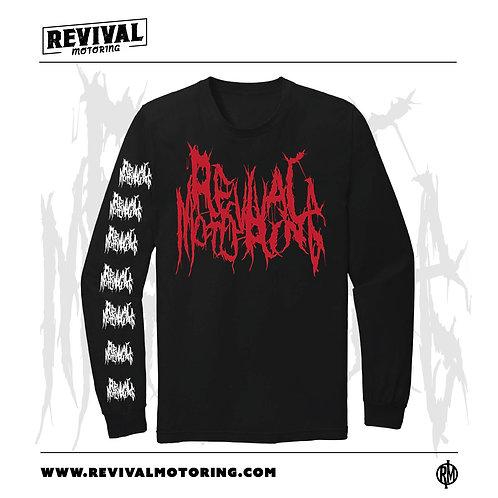 Revival Motoring - Death Metal Long Sleeve