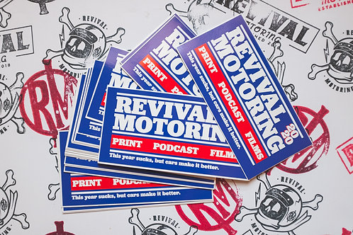 Revival Motoring 2020 Sticker Pack