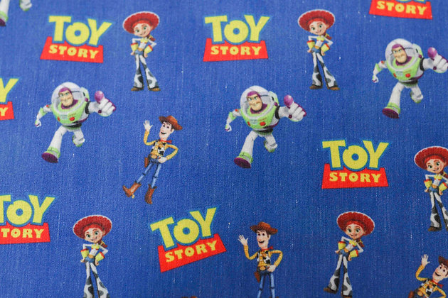 Tricoline Personagem - Toy Story