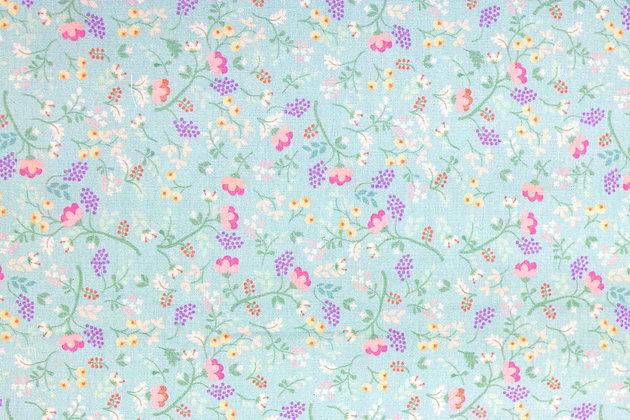 Tricoline - Mini Floral Viva La Vida Happy - Fuxicos e Fricotes