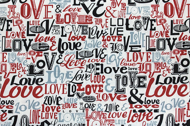 Tricoline - Fuxicos e Fricotes - Tema Love