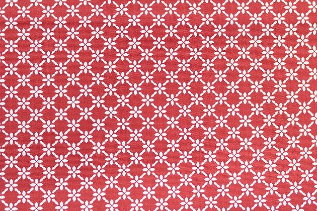 Tricoline - Trama Vermelha  - Fabricart