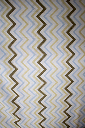 Tricoline Geométrico - Linhas zig zag