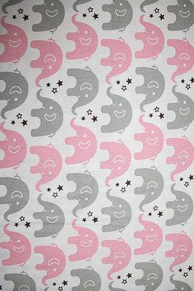 Tricolines - Elefantinhos rosa e cinza