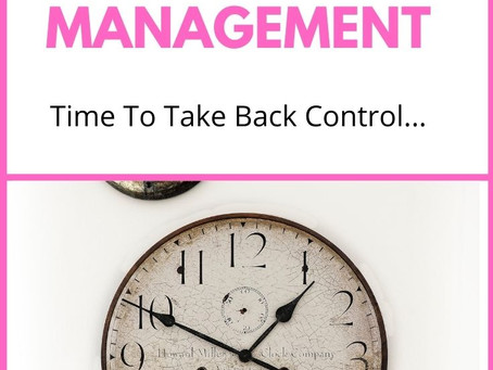 Ten Tips For Better Time Management.