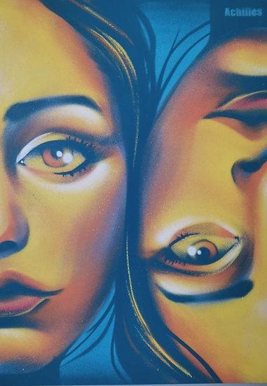 Split Girls Face by Achilles®