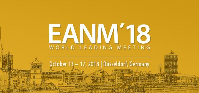 31st Annual EANM Congress in Düsseldorf, Germany in October 2018.