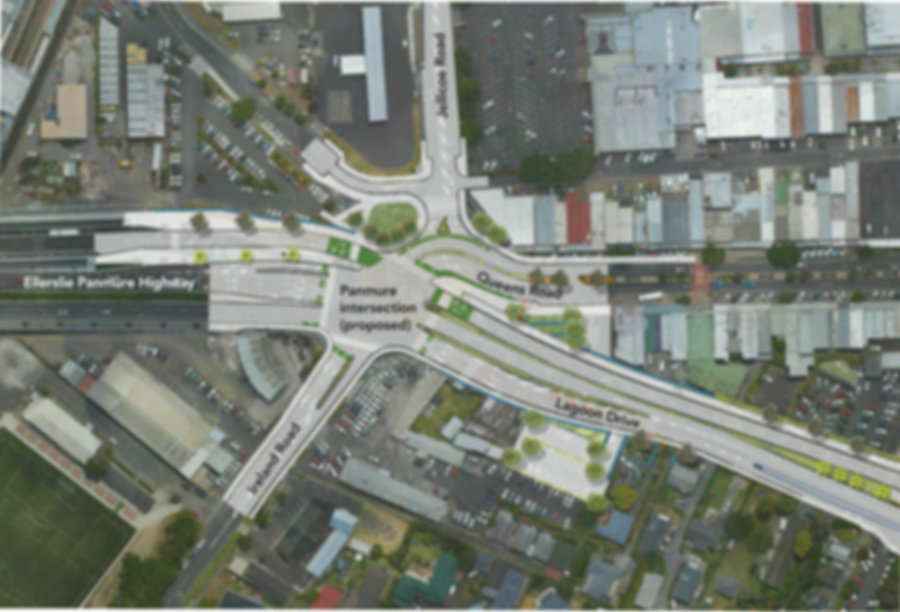 AMETI Eastern Busway Project is Panmure