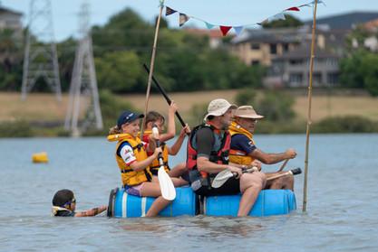 Raft Race - The Crafty Rafties