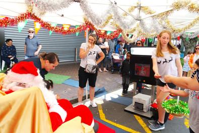 PBA staff - Santa's tent