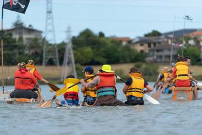 Raft Race - some rafts are better than others