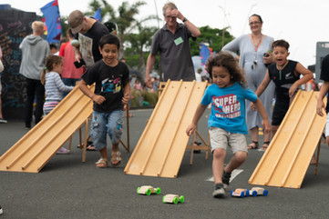 Men's Shed - racing the cars.jpg